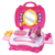 Fashion Kids Play Cosmetic Organiser Makeup Set with Tool Box