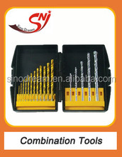 Power tools large straight HSS drill bit for metal wood