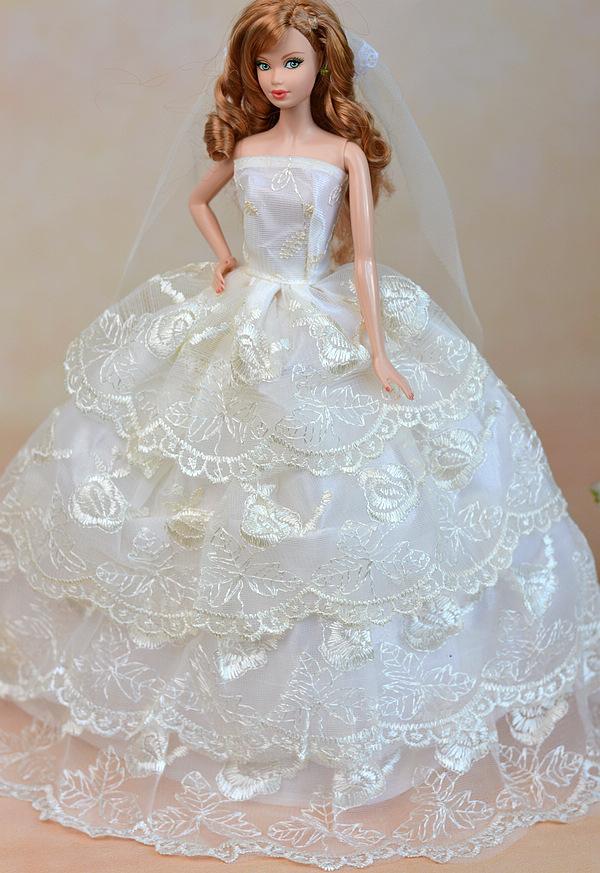 Accessories Beautiful Bride Barbie Doll 36