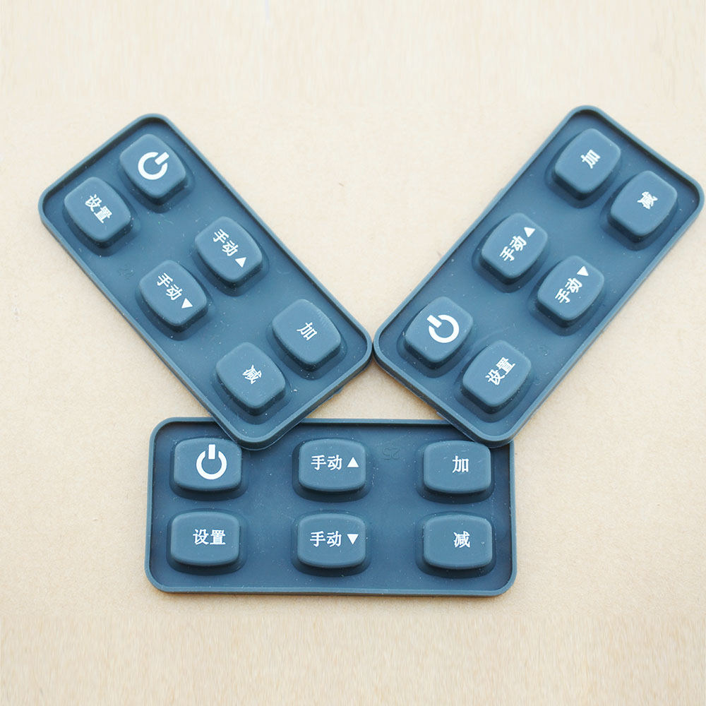 Custom Anti-Bacterial Soft Silicone Controller Push Button
