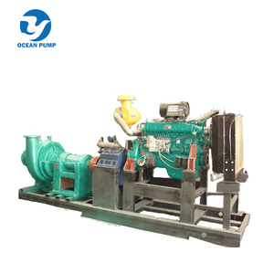 Sea diesel engine sand suction dredge pump for sale
