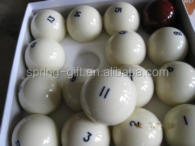 professional America pool ball