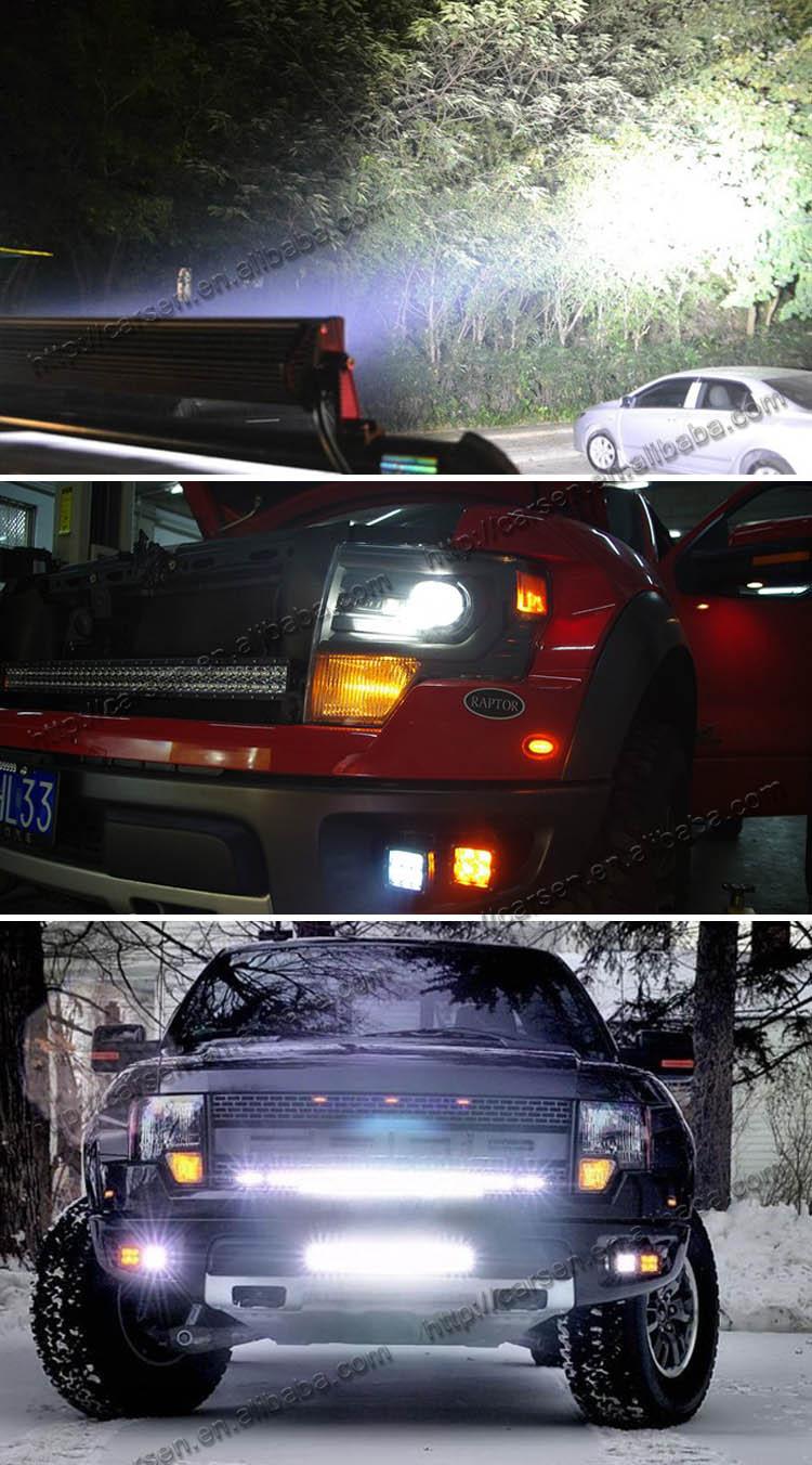 Auto Led Car Roof Lights 288w 12v/amber Led Light Bar/hanma Led ...