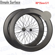 carbon clincher dimpled wheels bicycle wheels used road bike wheel