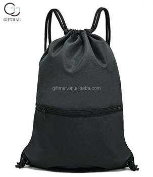 wholesale casual drawstring pouch backpack travel bag sport bag for teens