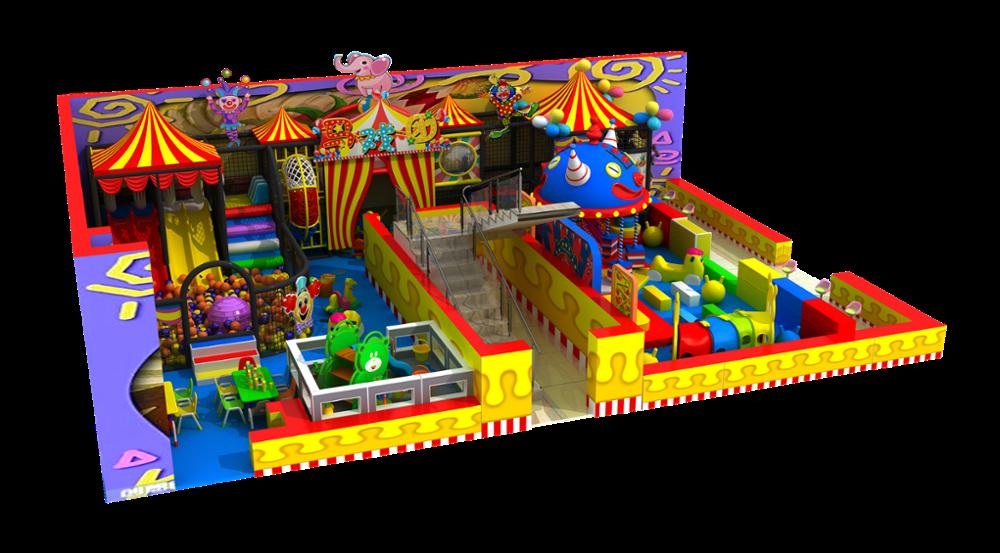 Kids Kasteel Grote Indoor Speeltuin Pretpark Met Soft Play Ballen