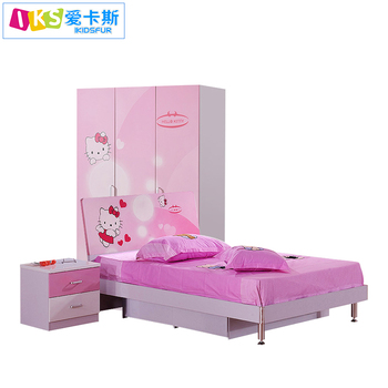 Hello Kitty Bedroom Set/kids Bedroom Set For Girls 8863