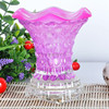 For USA market electronic glass fragrance lamp candle holder oil warmer