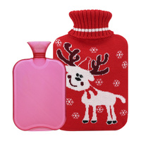 Cute PVC hot water bottle Christmas gift