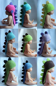 Dinosaur Hat With Tail Of Spikes- Baby 2dbebf57eed