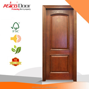 Design Solid Wooden Single Bedroom door Main Door with good quality