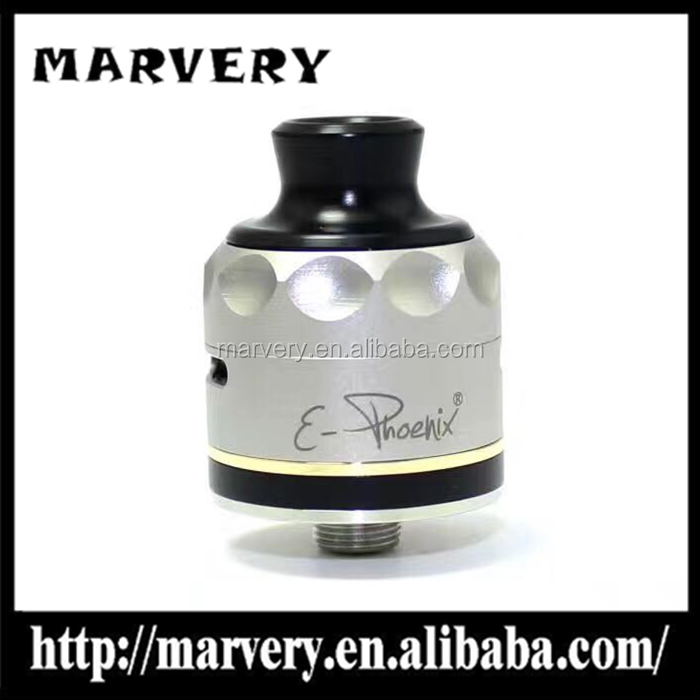 2017 newest 316 stainless steel sxk version e-phoenix rda bottom feeder E-PHOENIX firebird rda in stock