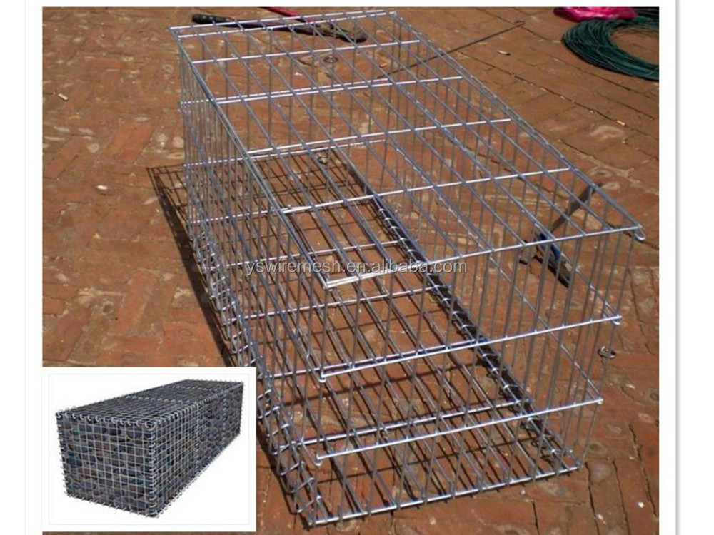 Welded mesh gabion baskets/rock filled gabion/gabion box wire mesh