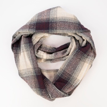Hot New Winter Warm Acrylic Plaid Scarf Wholesale Women Lady Fashion Infinity Scarf With Pocket