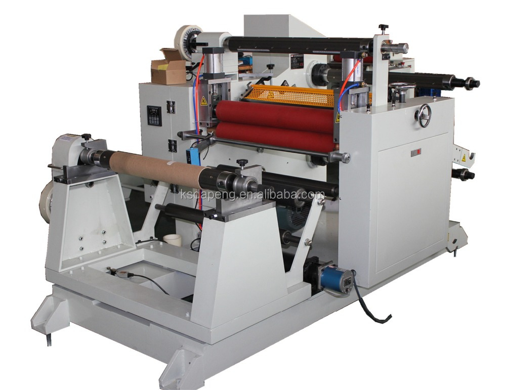 Adhesive Tape/Label/Film/PP/PVC/OPP/PET/PE/Foam/Fabric/Paper Roll Slitting Machine/Slitter
