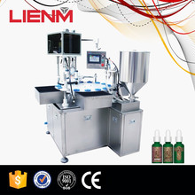 Automatic Liquid Lotion 5ml Bottle Filling Machine with Capper
