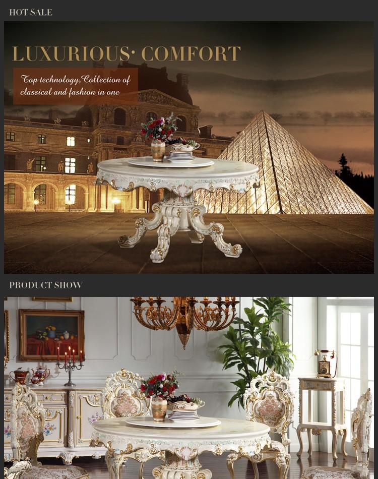 italienischen stil esszimmer möbel runden esstisch-italienische, Hause deko