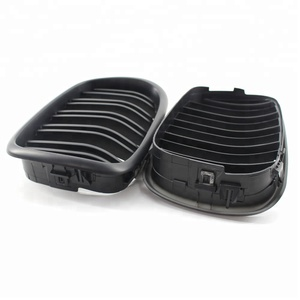 Partners Custom Made Auto Grills Car Radiator Grill Covers for E39 Matte Black Double Wire Swift Car Front Grill
