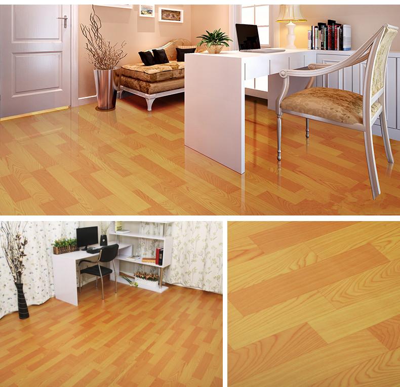 Hard Wearing Vinyl Floor Covering: Waterproof Felt Backing Pvc Linoleum Flooring Rolls