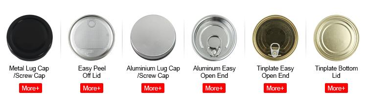 64.5 millimetri 410 Argento di Alluminio del Metallo Gamma Standard Laminati Bordo Lug Cap
