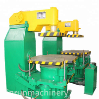 Microseism Jolt Squeeze Molding Machine For Casting Molding In Foundry