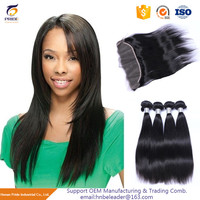 Professional Custom full cuticle virgin brazilian straight hair