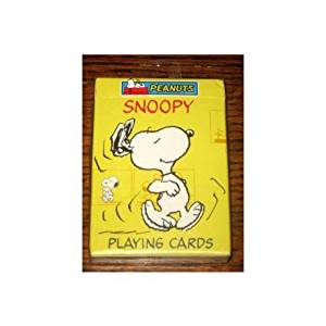 Rare! Peanuts Deck Playing Cards - Snoopy in Many Personna