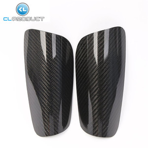 Carbon Fiber Sporting Goods Shin Guards with High Quality