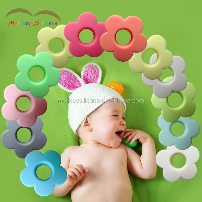 Food Grade Teething Beads DIY Supplies Silicone Loose Beads silicone beads for baby