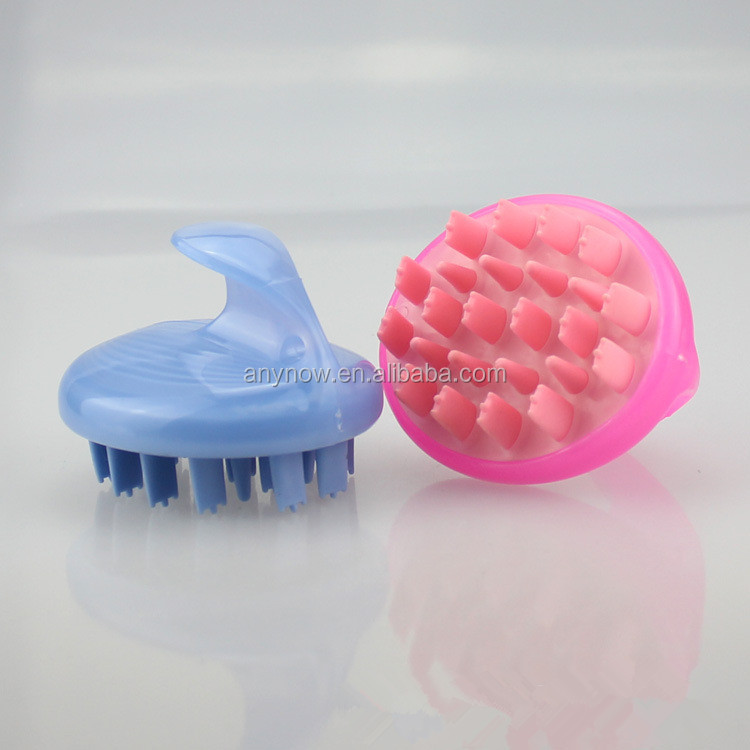 Professional Plastic Scalp Massage Hair Shampoo Brush