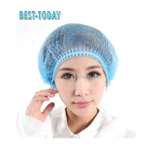 10g blue nonwoven PP surgical doctor cap exported to Pakistan