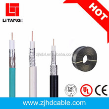 2017 hot sales factory price and high quality BC/CCS rg6 double shielded cable coaxial cable