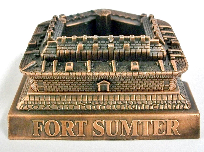 Fort Sumter South Carolina Die Cast Metal Collectible Pencil Sharpener