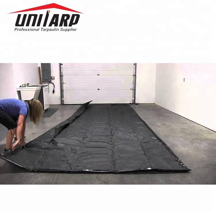 Black Pvc Truck Garage Floor Mats Anti