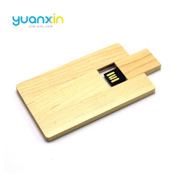 Nouveaux Gadgets Chine Pas Cher En Vrac Bois Carte De Visite Usb Flash Drive 1