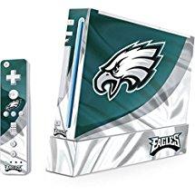 NFL Philadelphia Eagles Wii (Includes 1 Controller) Skin - Philadelphia Eagles Vinyl Decal Skin For Your Wii (Includes 1 Controller)