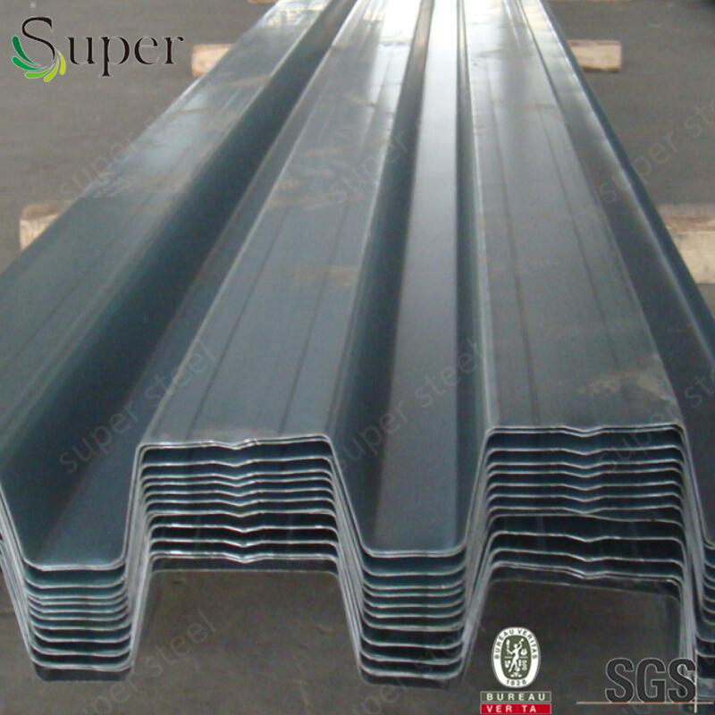 Anticorrosion zinc coated metal floor decking