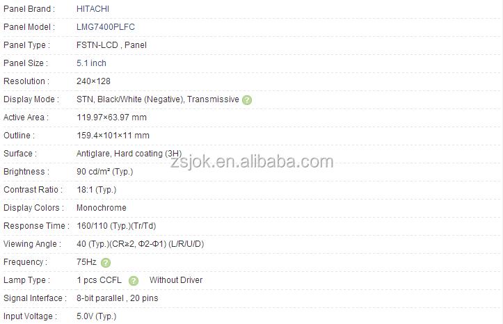 "Nuevo Reemplazo Para LMG 7400 PLFC 5.1/"" Lcd Pantalla Panel LMG 7400 plfc"