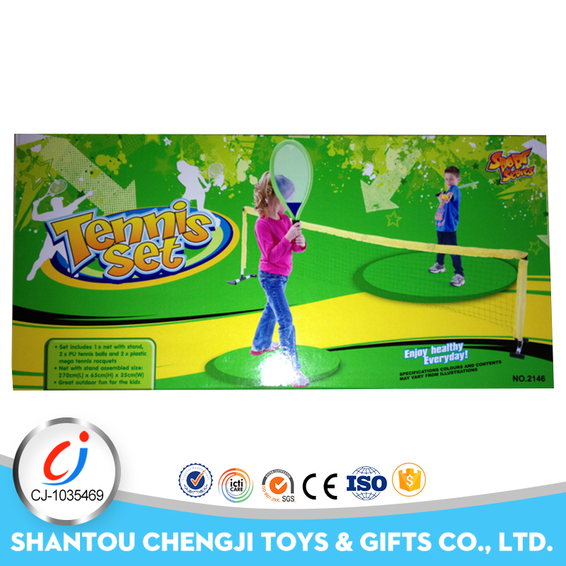 China manufacture plastic funny toy tennis racquet