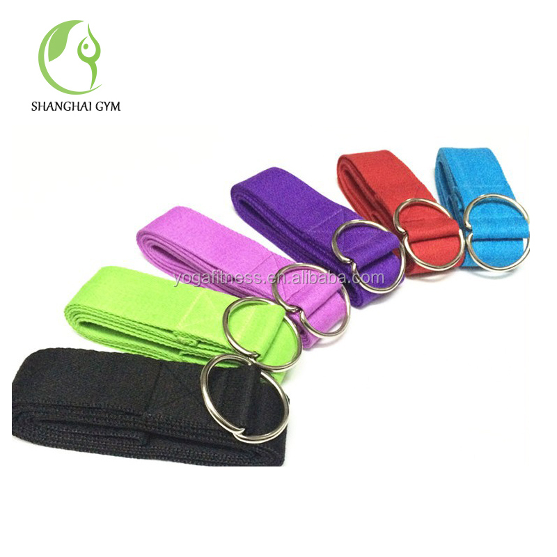 manufacturer yoga mat with carrying strap resistance band hook