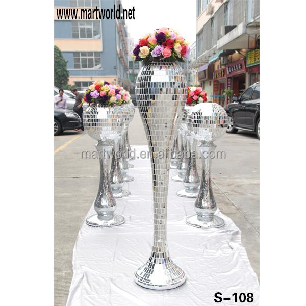 Decorative Resin Columns For Wedding Decorationsilver Decorative