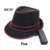 10 Color Choice Glowing Neon Light up Hat with DC-3V Steady on Driver EL Wire Flashing Cold Light Cap for Wedding Party Supplies
