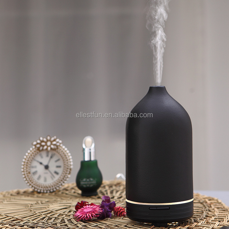 CERAMIC AROMISTER electric aroma diffuser, ultrasonic aroma humidifier with hand-made ceramic housing GH2183