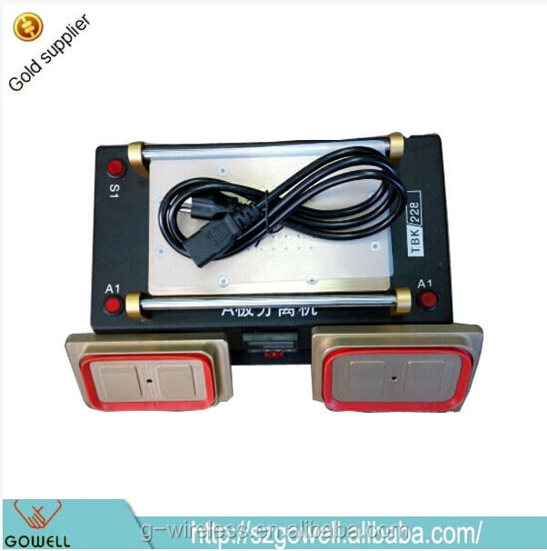 Cheapest price 3 in 1 Mobile Phone Broken Touch Screen Repair Machine Digital Vacuum LCD Separator Machine