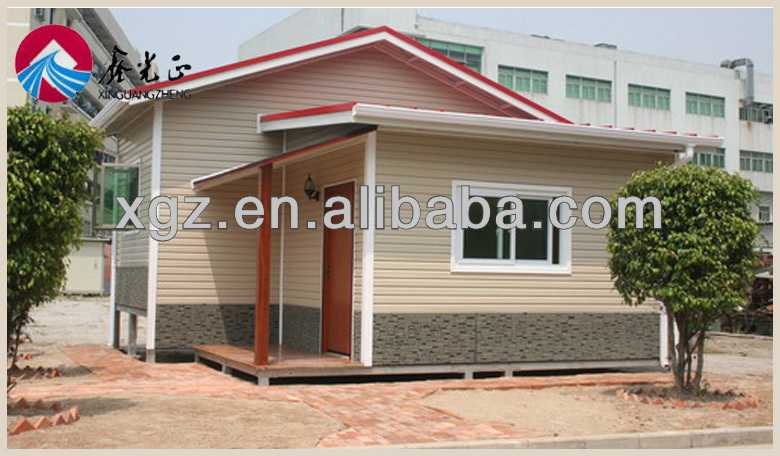 best selling modern prefab light steel construction villa or sale in africa