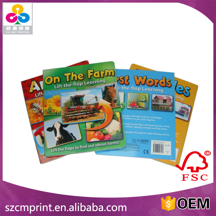 Cloth Book For Children Stuffed With Sponge Of Plush Educational Toys