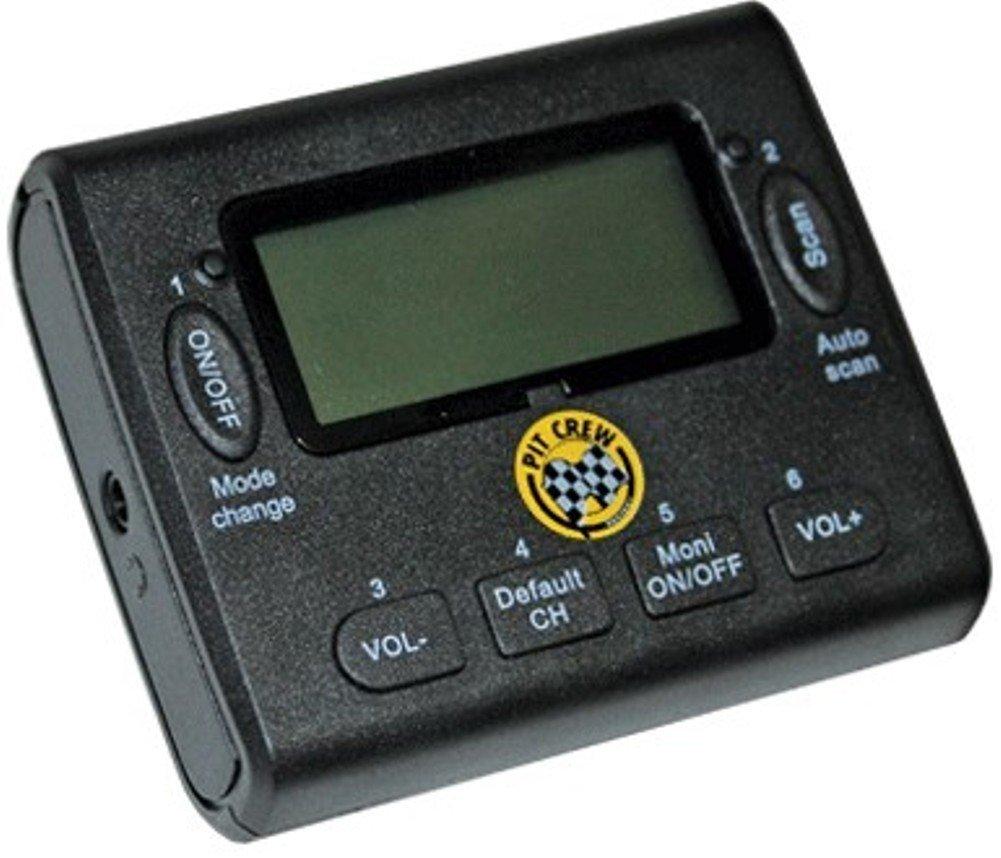Klein electronics pcr-scan-vhf pitcrew race vhf scanner, 50 memory.