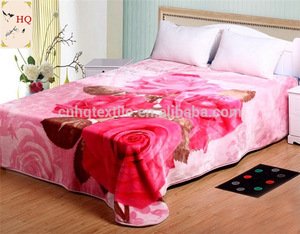 acrylic material travel electric blanket wholesales blanket