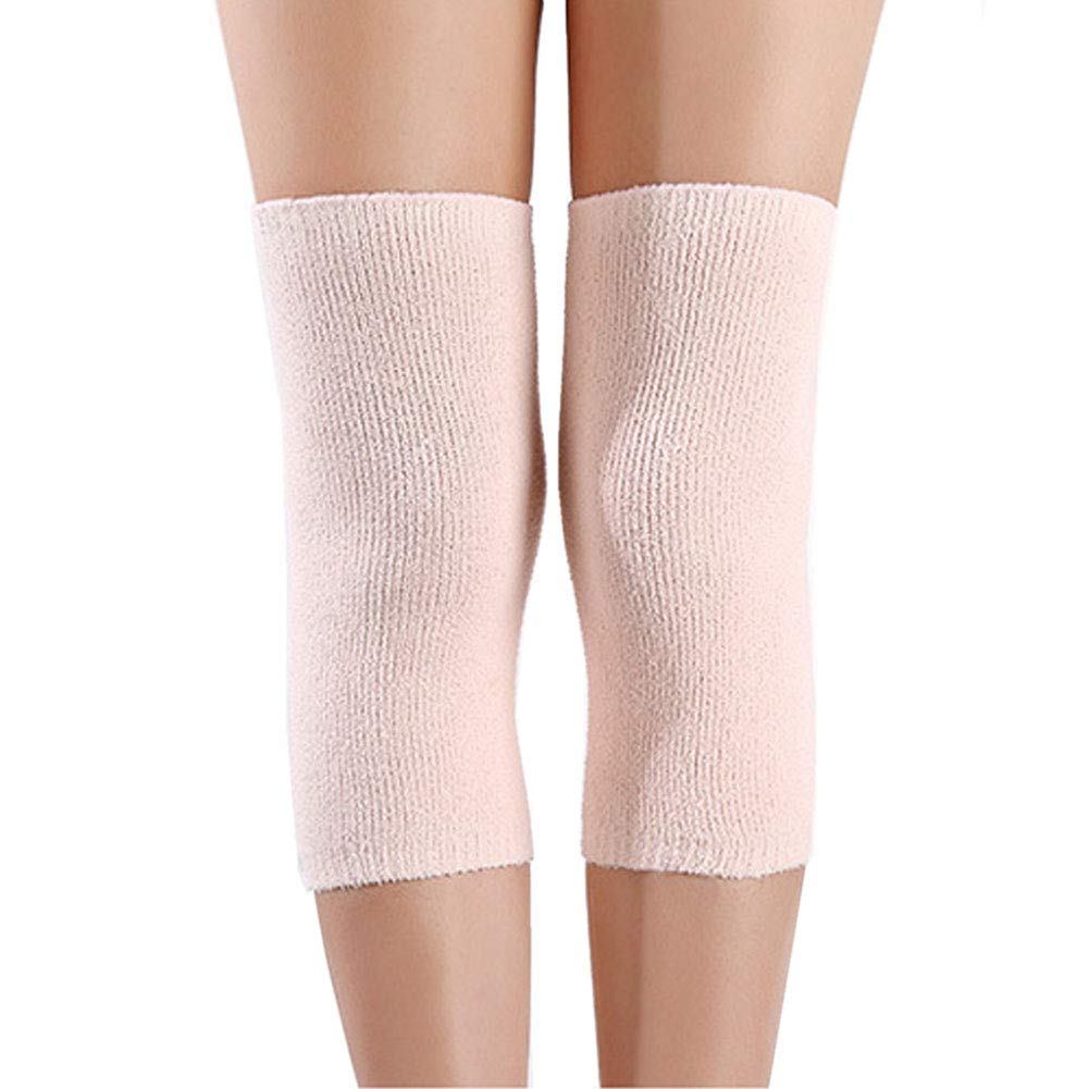 6d4216b29e 1 Pair Polyester Athletics Elastic Knee Compression Sleeves Knee Brace  Support Pad Leg Knee Warmer for