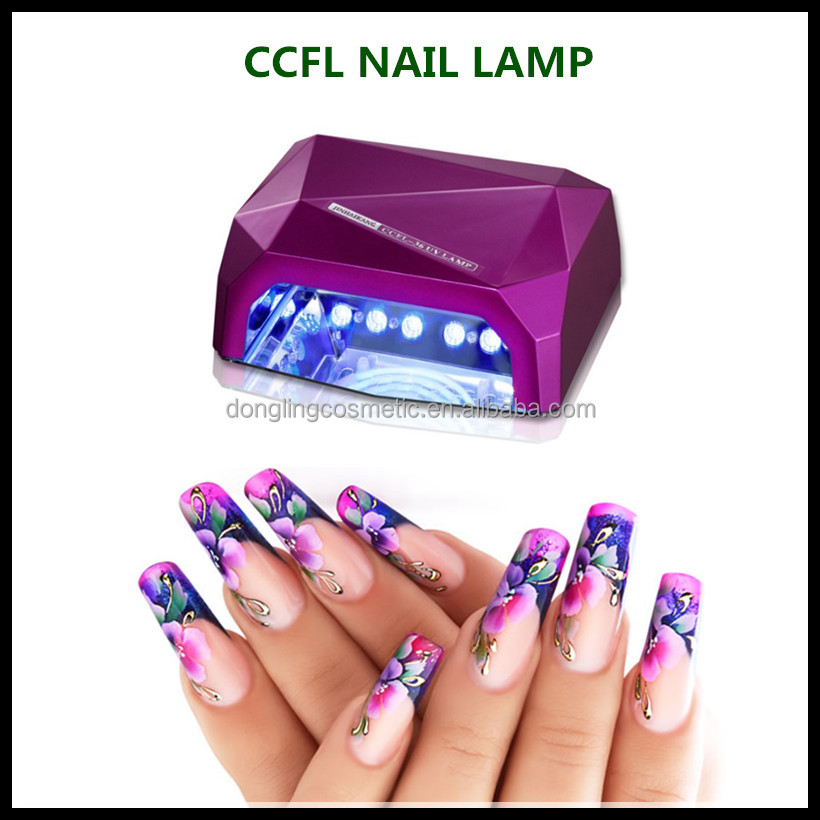 2017Hot selling nail art pro cure led nail lamp for home use